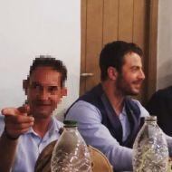 Ο Γιώργος στο γαμήλιο πάρτι του Γιώργου Χρανιώτη και της Γεωργίας Αβασκαντήρα στην Τήνο - 23 Ιουνίου 2018 Φωτογραφία: kostas.patiniotis Instagram