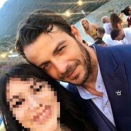 Ο Γιώργος στην Τήνο για τον γάμο του Γιώργου Χρανιώτη - 23 Ιουνίου 2018 Φωτογραφία: maria_vla_ Instagram