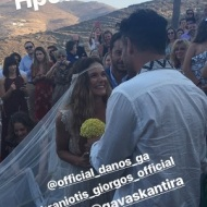 Ο Γιώργος φέρνει τη νύφη Γεωργία Αβασκαντήρα στο μοναστήρι της κυρά Ξένης - 23 Ιουνίου 2018 Φωτογραφία: nikolas._makris Instagram