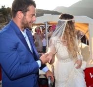 Ο Γιώργος φέρνει τη νύφη Γεωργία Αβασκαντήρα στο μοναστήρι της κυρά Ξένης - 23 Ιουνίου 2018 Φωτογραφία: TLife