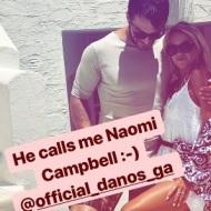 Ο Γιώργος στην Τήνο όπου βρέθηκε για τον γάμο του Γιώργου Χρανιώτη - 24 Ιουνίου 2018 Φωτογραφία: bookonin Instagram