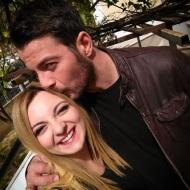"""Ο Γιώργος μαζί με τη Χρύσα Κατσαρίνη στην εκπομπή """"Στη φωλιά των Κου Κου"""" - 26 Μαρτίου 2018 Φωτογραφία: xrysa_katsarini Instagram"""