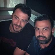 """Ο Γιώργος μαζί με τον Σταύρο Μαυρουδή στο """"Απλά Ελληνικά"""" στις 31 Μαΐου 2018 Φωτογραφία: stavros.mavroudis Instagram"""