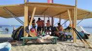 Ο Γιώργος στο Salto Water Sports στις Κουκουναριές στη Σκιάθο - 9 Ιουνίου 2018 Φωτογραφία: Ό,τι συμβαίνει στη Σκιάθο Facebook