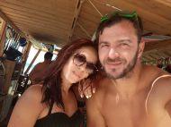 Ο Γιώργος με φαν στο Salto WaterSports στις Κουκουναριές Σκιάθου - 21 Ιουλίου 2018 Φωτογραφία: efi_mantaveli Instagram