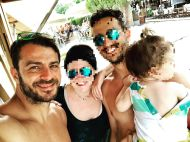 Ο Γιώργος με φανς στο Salto WaterSports στις Κουκουναριές Σκιάθου - 21 Ιουλίου 2018 Φωτογραφία: tkoutris Instagram