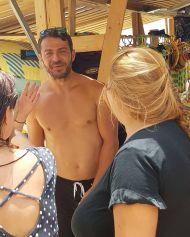 Ο Γιώργος στο Salto WaterSports στις Κουκουναριές Σκιάθου - 22 Ιουλίου 2018 Φωτογραφία: artemisntotsika Instagram