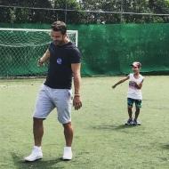 Ο Γιώργος στη Δράμα για την εκπλήρωση της ευχής του μικρού Άγγελου - 9 Ιουλίου 2018 Φωτογραφία: official_danos_ga Instagram