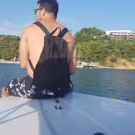 Ο Γιώργος στο δρόμο για τη Σκιάθο - 28 Ιουλίου 2018 Φωτογραφία: travelgirl.gr