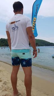Ο Γιώργος στις Κουκουναριές Σκιάθου - 29 Ιουλίου 2018 Φωτογραφία: travelgirl.gr