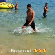 Ο Γιώργος στις Κουκουναριές στη Σκιάθο στις 4 Αυγούστου 2018 Φωτογραφία: joanne_nik Instagram