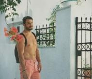 Ο Γιώργος στη φωτογράφιση για το περιοδικό Down Town που κυκλοφόρησε στις 15 Αυγούστου 2018 Φωτογραφία: Πάνος Γιαννακόπουλος