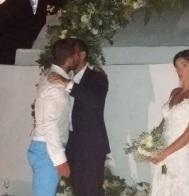 Ο Γιώργος στον γάμο του Σάκη Τανιμανίδη και της Χριστίνας Μπόμπα που έγινε στη Σίφνο - 1 Σεπτεμβρίου 2018 Φωτογραφία: giorgos_aggelopoulos_friends IG
