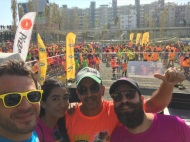 """Ο Γιώργος στη Λεμεσό κατά τη διάρκεια της εκδήλωσης """"Run in Colour"""" που έγινε στις 13 Οκτωβρίου 2018 Φωτογραφία: official_danos_ga Instagram"""