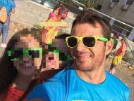 """Ο Γιώργος στη Λεμεσό κατά τη διάρκεια της εκδήλωσης """"Run in Colour"""" που έγινε στις 13 Οκτωβρίου 2018 Φωτογραφία: stelina11 Instagram"""