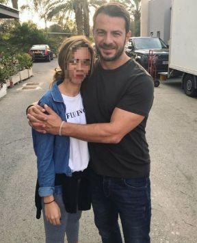 Ο Γιώργος μαζί με φαν στην Κύπρο στις 24 Οκτωβρίου 2018 Φωτογραφία: _marinakyp Instagram