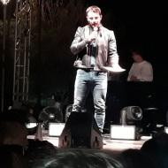 Ο Γιώργος στο 1ο SGS Family and Pets Festival που έγινε στη Μαρίνα Φλοίσβου, όπου ήταν και ο παρουσιαστής της βραδιάς - 6 Οκτωβρίου 2018 Φωτογραφία: argyrw_ontria Instagram