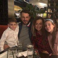 Ο Γιώργος με φίλους και συγγενείς στη Νέα Υόρκη κατά την επίσκεψή του εκεί - 10 Νοεμβρίου 2018 Φωτογραφία: gregkyroglou Instagram