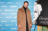 """Ο Γιώργος στην πρεμιέρα του ντοκιμαντέρ """"Olympia"""" στο Φεστιβάλ Ντοκιμαντέρ της Νέας Υόρκης - 11 Νοεμβρίου 2018 Φωτογραφία: Lou Aguilar flickr"""
