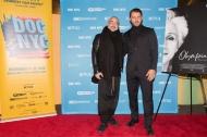 """Ο Γιώργος μαζί με τον σκηνοθέτη Χάρη Μαυρομιχάλη στην πρεμιέρα του ντοκιμαντέρ """"Olympia"""" στο Φεστιβάλ Ντοκιμαντέρ της Νέας Υόρκης - 11 Νοεμβρίου 2018 Φωτογραφία: Lou Aguilar flickr"""