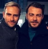 Ο Γιώργος σε βραδινή έξοδο με τον Κλείτο Τέκλο στη Νέα Υόρκη - 13 Νοεμβρίου 2018 Φωτογραφία: klitosteklos Instagram