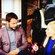 Ο Γιώργος κατά τη διάρκεια παραχώρησης συνέντευξης στην άννα Σαριγιάννη για το New Greek TV Φωτογραφία: annasarigianni Instagram