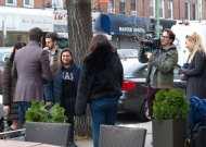 Ο Γιώργος κατά τη διάρκεια παραχώρησης συνέντευξης στην άννα Σαριγιάννη για το New Greek TV Φωτογραφία: udorphoto Instagram