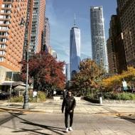Ο Γιώργος στη Νέα Υόρκη κατά την επίσκεψή του εκεί - 5 Νοεμβρίου 2018 Φωτογραφία: official_danos_ga Instagram