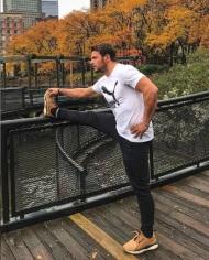 Ο Γιώργος στη Νέα Υόρκη κατά την επίσκεψή του εκεί - 7 Νοεμβρίου 2018 Φωτογραφία: official_danos_ga Instagram