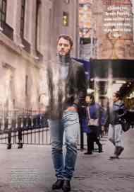 Η φωτογράφιση του Γιώργου για το περιοδικό Hello από το ταξίδι του στη Νέα Υόρκη. Φωτογραφία: Udor Photography