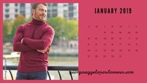 Ημερολόγιο Γιώργος Αγγελόπουλος - Ιανουάριος 2018