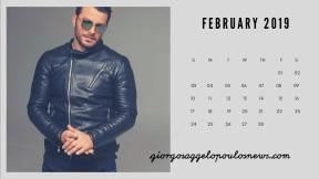 Ημερολόγιο Γιώργος Αγγελόπουλος - Φεβρουάριος 2019