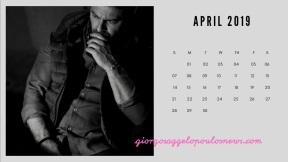 Ημερολόγιο Γιώργος Αγγελόπουλος - Απρίλιος 2019