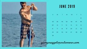 Ημερολόγιο Γιώργος Αγγελόπουλος - Ιούνιος 2019