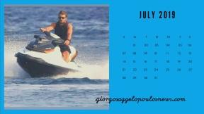 Ημερολόγιο Γιώργος Αγγελόπουλος - Ιούλιος 2019