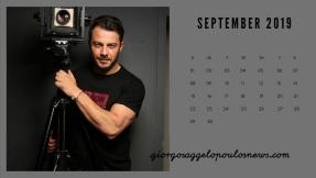 Ημερολόγιο Γιώργος Αγγελόπουλος - Σεπτέμβριος 2019