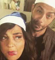 """Ο Γιώργος και η Κατερίνα στην """"Επέλαση των Ξωτικών"""" στο Γκάζι την 1η Δεκεμβρίου 2018 Φωτογραφία: zarifious Instagram"""