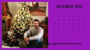 Ημερολόγιο Γιώργος Αγγελόπουλος - Δεκέμβριος 2019