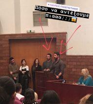 Ο Γιώργος στην ημερίδα του Πάντειου Πανεπιστημίου με θέμα τις κοινωνικές και οικονομικές συνιστώσες που έχουν τα Reality και τα Talent Shows - 22 Μαρτίου 2019 Φωτογραφία: aggeliki_salipa Instagram