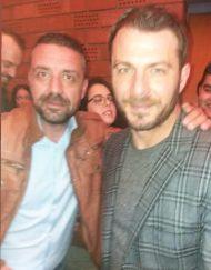 Ο Γιώργος με τον φίλο του Άκη στην ημερίδα του Πάντειου Πανεπιστημίου με θέμα τις κοινωνικές και οικονομικές συνιστώσες που έχουν τα Reality και τα Talent Shows - 22 Μαρτίου 2019 Φωτογραφία: akis.passaris Instagram