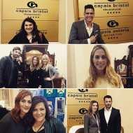 Ο Γιώργος και άλλοι ομιλητές του συνεδρίου κατά του bulling στο ξενοδοχείο όπου τους φιλοξένησε κατά τη διαμονή τους στην πόλη - 4 Μαρτίου 2019 Φωτογραφία: capsis_hotels Instagram