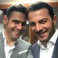 Ο Γιώργος μαζί με τον Δημήτρη Ουγγαρέζο στο συνέδριο κατά του bulling στη Θεσσαλονίκη όπου ήταν ένας από τους ομιλητές - 4 Μαρτίου 2019 Φωτογραφία: d_ougarezos Instagram