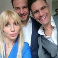 Ο Γιώργος μαζί με την Μαρία Φραγκάκη και τον Δημήτρη Ουγγαρέζο στο συνέδριο κατά του bulling στη Θεσσαλονίκη όπου ήταν ένας από τους ομιλητές - 4 Μαρτίου 2019 Φωτογραφία: fragakimaria Instagram