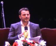 Ο Γιώργος στο συνέδριο κατά του bulling στη Θεσσαλονίκη όπου ήταν ένας από τους ομιλητές - 4 Μαρτίου 2019 Φωτογραφία: vassoskg Instagram