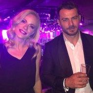 Ο Γιώργος μαζί με τον Σταύρο Κωνσταντίνου στο after party των βραβείων Madame Figaro Γυναίκες της χρονιάς που έγινε στο State Club - 16 Απριλίου 2019 Φωτογραφία: altsantiri.gr
