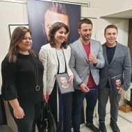 Ο Γιώργος κατά τη διάρκεια της παρουσίασης του βιβλίου του στο βιβλιοπωλείο ΙΑΝΟΣ στη Θεσσαλονίκη που έγινε στις 6 Απριλίου 2019 Φωτογραφία: anastasios_ntougkas Instagram