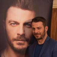 Ο Γιώργος κατά την παρουσίαση του βιβλίου του στον Βόλο που έγινε στις 17 Απριλίου 2019 Φωτογραφία: ekdotikeathenon Instagram