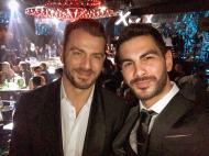 Ο Γιώργος μαζί με τον Σταύρο Κωνσταντίνου στο after party των βραβείων Madame Figaro Γυναίκες της χρονιάς που έγινε στο State Club - 16 Απριλίου 2019 Φωτογραφία: stavros__konstantinou Instagram