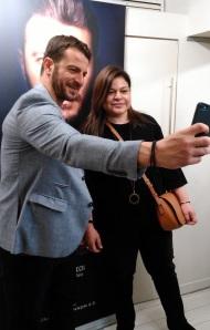 Ο Γιώργος μαζί με την Αυγή Σαββίδου κατά τη διάρκεια της παρουσίασης του βιβλίου του στο βιβλιοπωλείο ΙΑΝΟΣ στη Θεσσαλονίκη που έγινε στις 6 Απριλίου 2019 Φωτογραφία: vassoskg Instagram