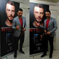 Ο Γιώργος κατά τη διάρκεια της παρουσίασης του βιβλίου του στο βιβλιοπωλείο ΙΑΝΟΣ στη Θεσσαλονίκη που έγινε στις 6 Απριλίου 2019 Φωτογραφία: vassoskg Instagram